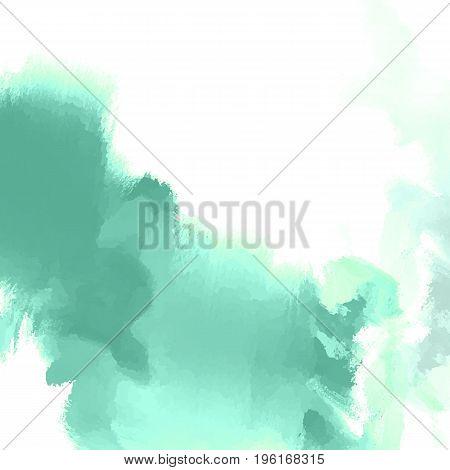 Abstract inkblot background. Color grunge paint design. Vector illustration.