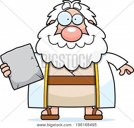 Happy Cartoon Moses
