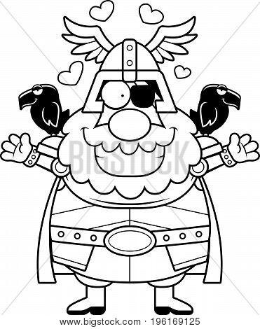 Cartoon Odin Hug