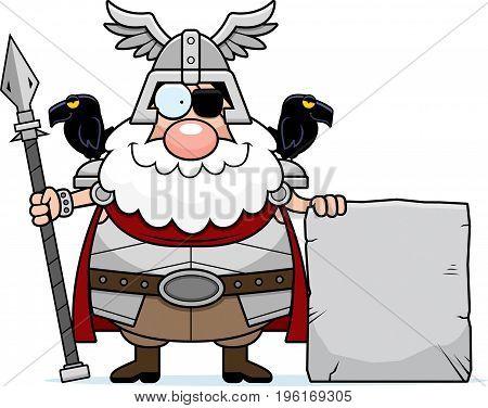 Cartoon Odin Sign