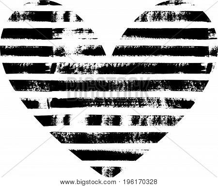 Hand Drawn Textured Heart