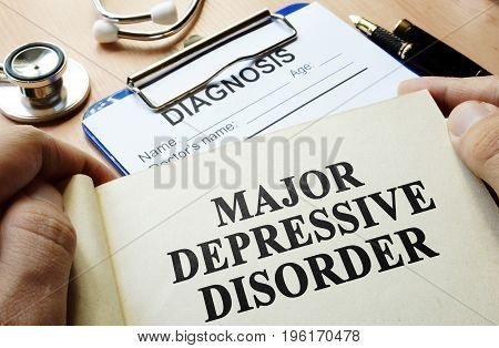 A Book with title Major depressive disorder.