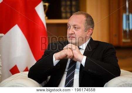 Georgian President Giorgi Margvelashvili