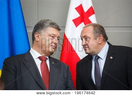 State Visit Of The President Of Ukraine To Georgia