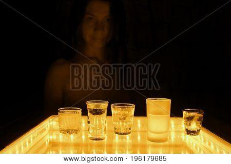 Woman Work As A Barmen