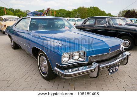 Blue 1973 Buick Lesabre Vintage Car