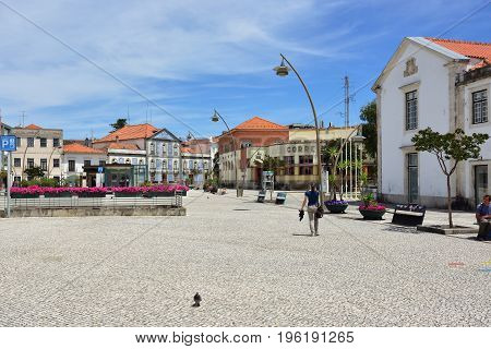 Aveiro Street Scene, Portugal