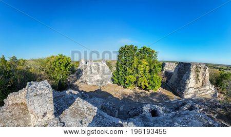 Becan Ruins Panorama