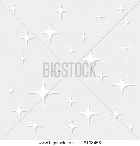 Star Seamless Pattern Background.