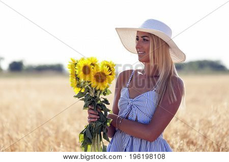 Sunflowers And Nature Inspire Happiness And Joy