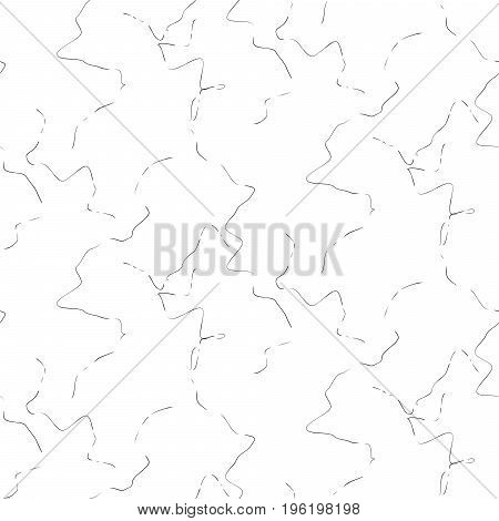Marble tender stone seamless white vector texture. Artificial stone rough strokes on white vector background.