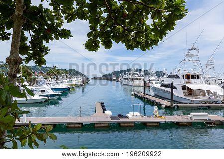 Beautiful Marina And Ships