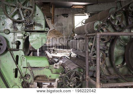 Vintage Wool Factory