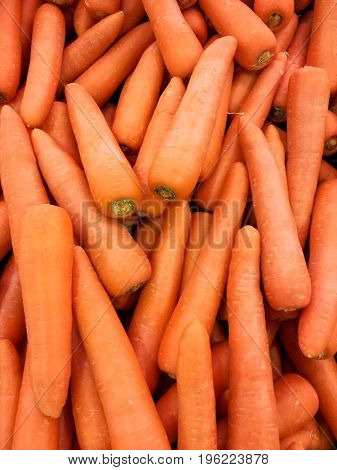 Carrot Healthy Diet,Fresh fruit and vegetables at the counter the vegetable shop
