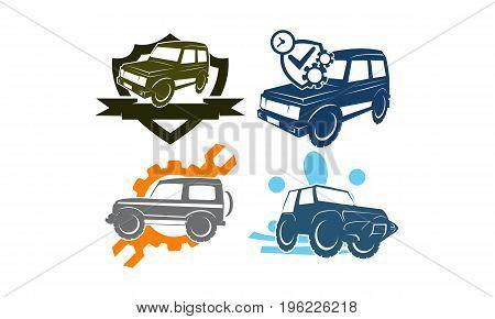 Jeep Car Service Wash Shield Ribbon Gear Screwdrive Collection2