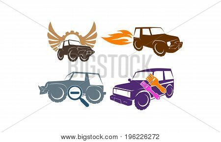 Jeep Car Service Wing Gear Paint Search Fire Collection4