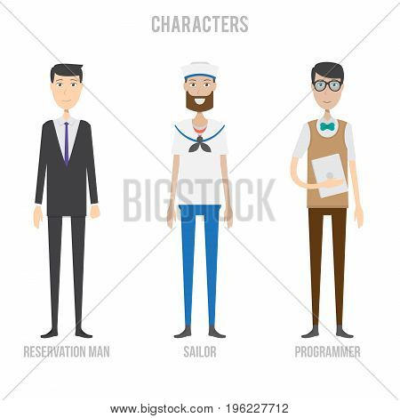 Character Set Include Vector & Photo (Free Trial) | Bigstock