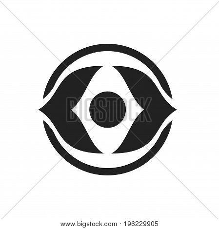 abstract eye logo design, eye logo design