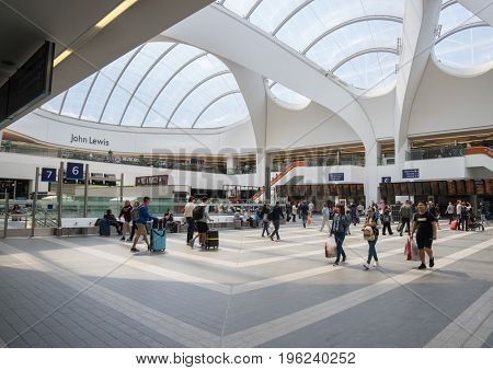 7.20.2107 Birmingham New Street Station, the has undergone a £600m metamorphosis bringing a much improved experience for  UK busiest station outside London.