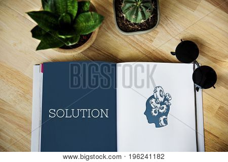 Creative Thinking Ideas Innovation Problem Solution Concept