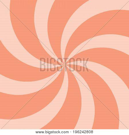 Orange Summer Twirl Background.