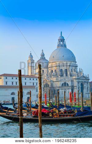 Santa Maria cathedral near Grand canal, Venice