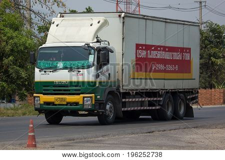 Container Truck Of Kiatchai Transportation Company.
