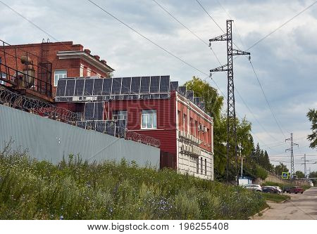 Modern solar panels are changing the lines.