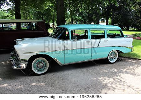 An Image of a Chevrolet Station Wagon - Bad Pyrmont/Germany - 07/08/2017