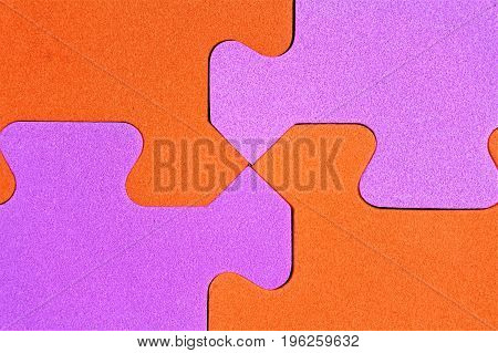 An image of a puzzle pieces - toy