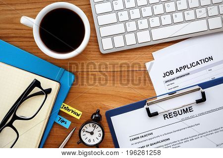 Job Search Background