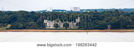 Old Stone Mansion on Coast near Southampton
