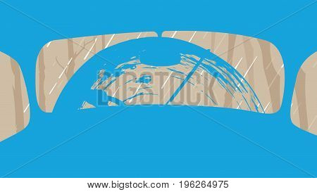 Abstract Vehicle background. Agriculture and Farming. Agrotourism. Agribusiness. Design elements for info graphic websites and print media. Vector illustrations