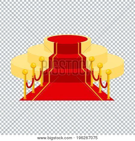Red Carpet Transparent Ackground