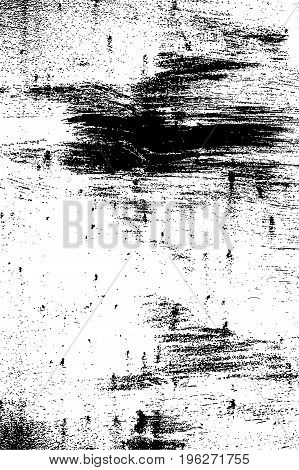 Grunge black and white urban vector texture template