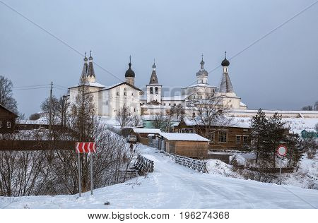 Ferapontov Monastery In Winter
