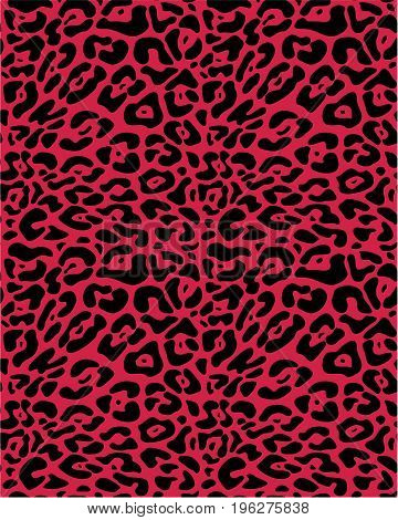 Seamless leopard fur , animal print  pattern