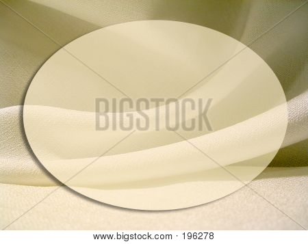 Oval Fabric Frame