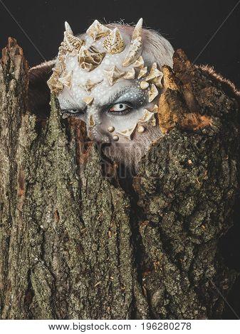 Tree Spirit And Fantasy Concept