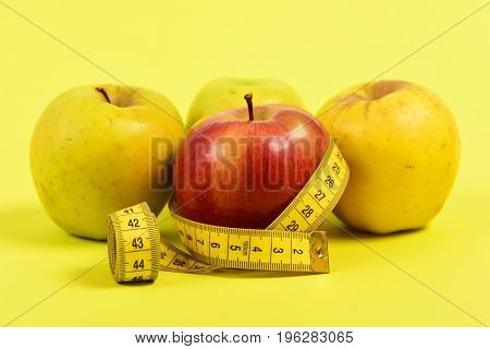 Apples And Ruler