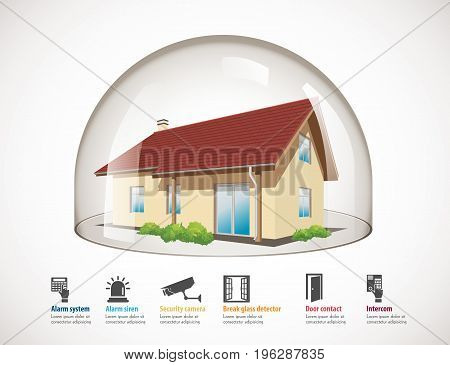 Glass Dome - House Protection 2.eps