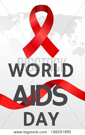 World AIDS Day. AIDS awareness. Vector illustration