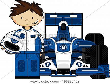 F1 Driver & Car