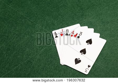Poker Hands - High Card