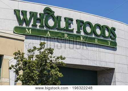 Las Vegas - Circa July 2017: Whole Foods Market. Amazon announced an agreement to buy Whole Foods for $13.7 billion IV
