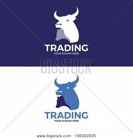 Trading Logo. Logo template for your business
