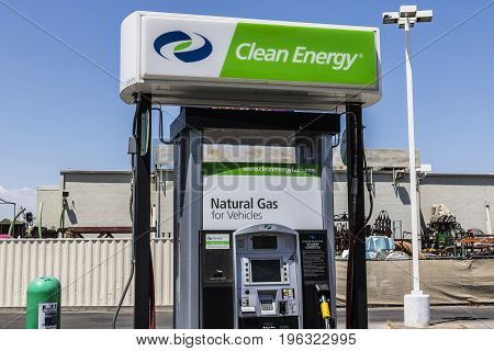 Las Vegas - Circa July 2017: Clean Energy Fuels Natural Gas Station. Clean Energy distributes Compressed natural gas (CNG) and Liquefied Natural Gas (LNG) I