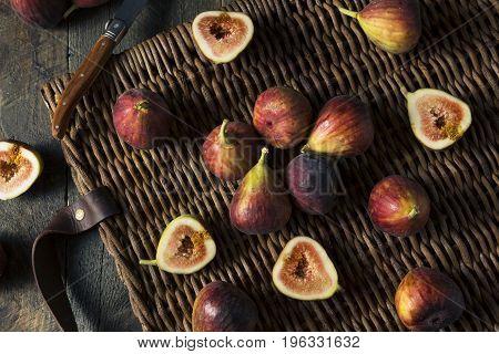 Raw Organic Purple Figs