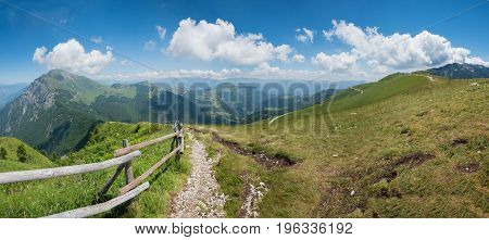 Monte Baldo Hiking Trail
