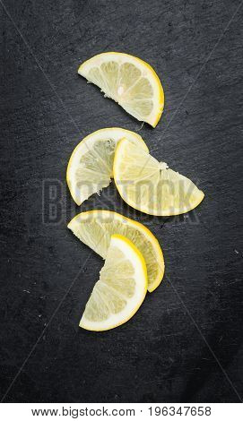 Portion Of Lemon Slices
